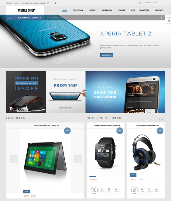 ap supermarket electronics shopify themes