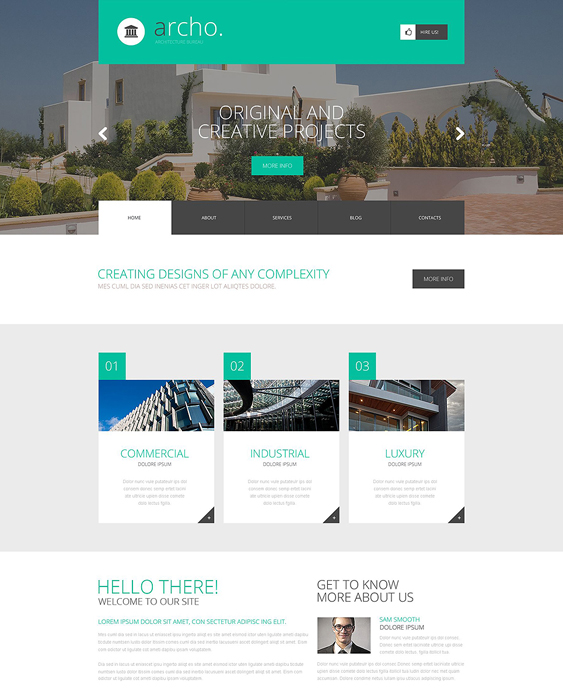 art architect wordpress themes