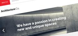 best architects drupal themes feature