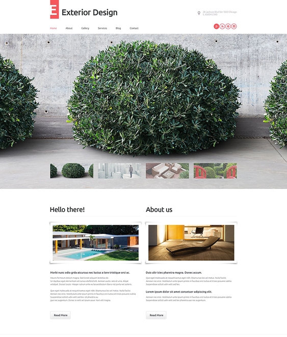 exterior gardener landscaping wordpress themes