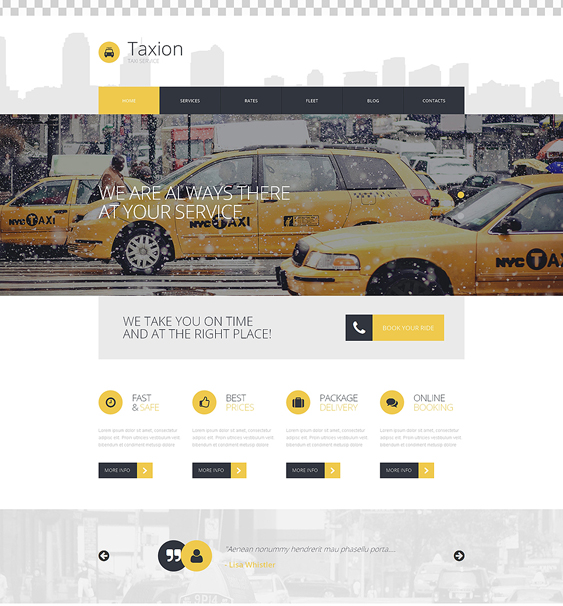 fast transportation wordpress themes
