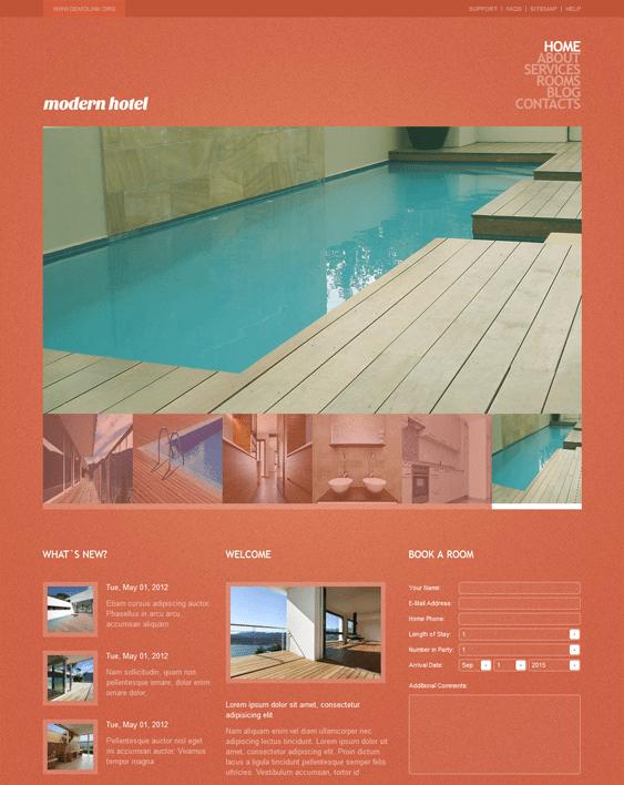 hotel drupal themes