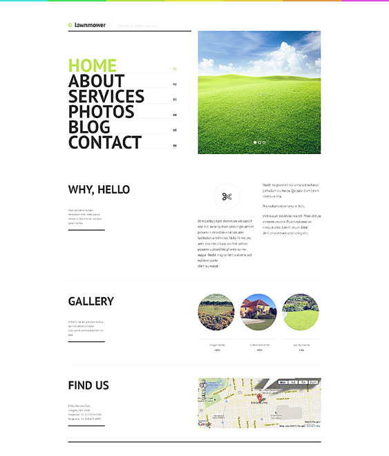 landscape design gardener landscaping wordpress themes