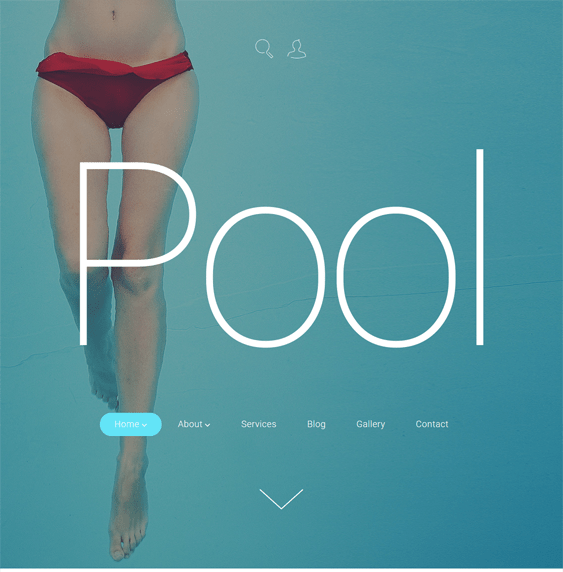 pool cleaning wordpress themes