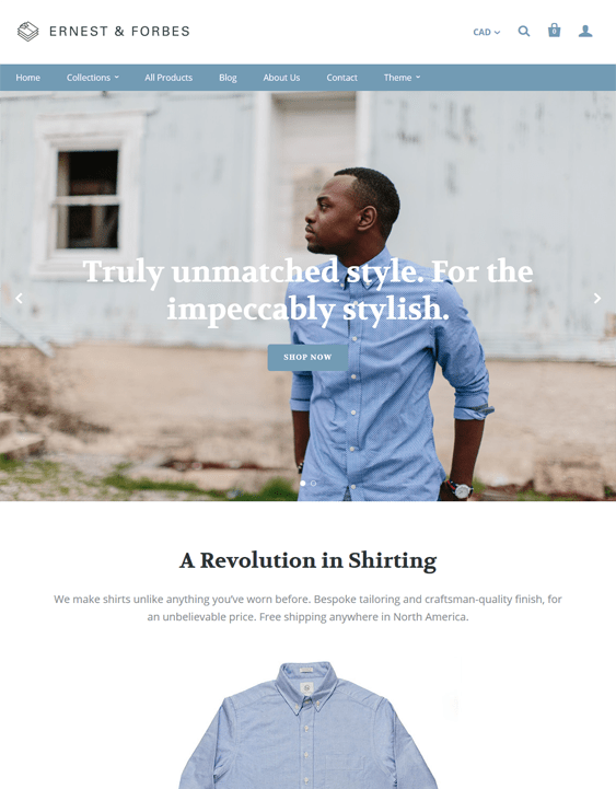 startup cloth shopify themes clothing stores