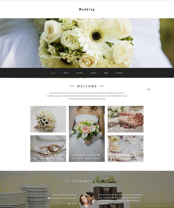 wedding wordpress themes store