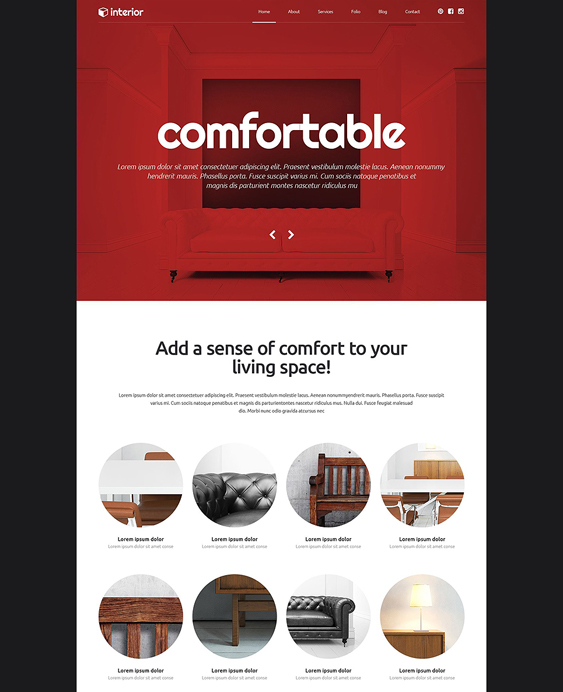 decor wordpress furniture themes