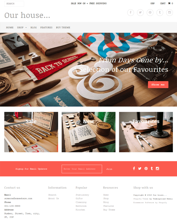 fashionopolism stationery shopify themes