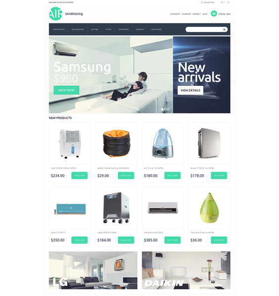 ac parts hardware home improvement magento themes