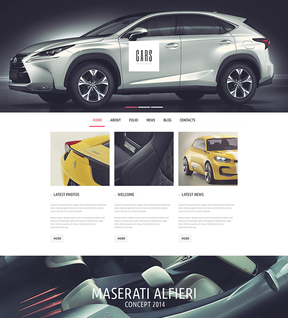 car vehicle automotive wordpress themes passion