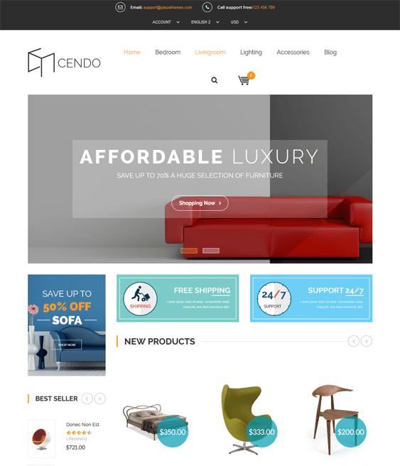 cendo furniture magento themes