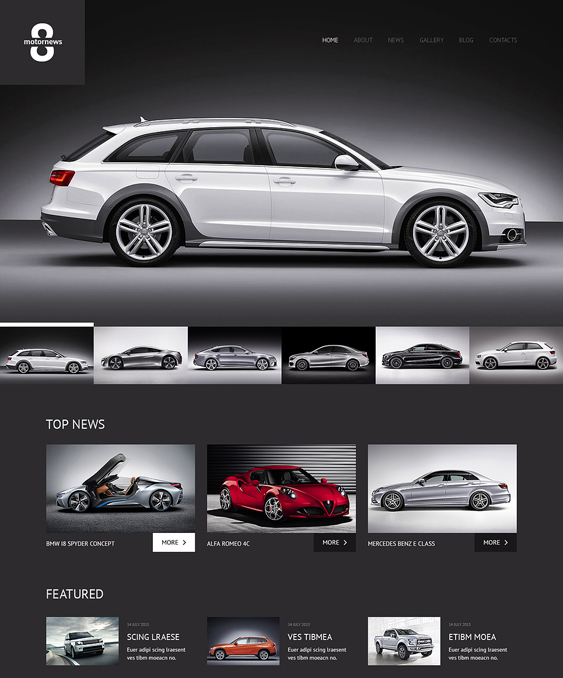 elegant car vehicle automotive wordpress themes