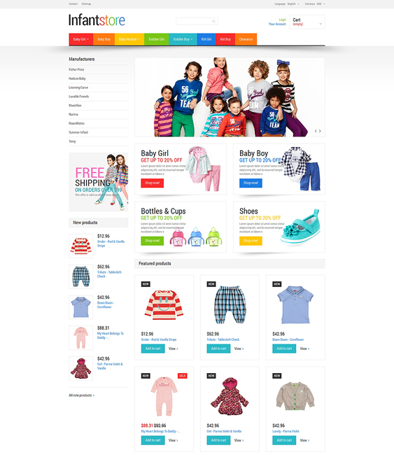 everything kids prestashop themes
