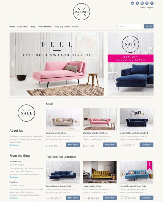 Bon Expression Furniture Shopify Themes