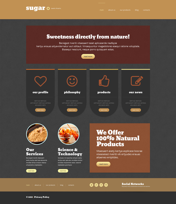 food store dark wordpress themes