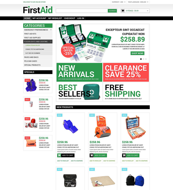 healthcare medical magento themes
