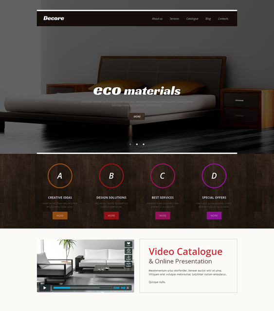 interior design wordpress themes 5
