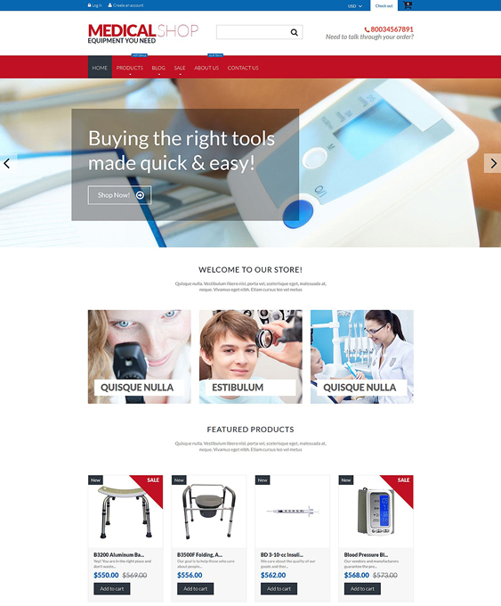 medical shopify themes 1