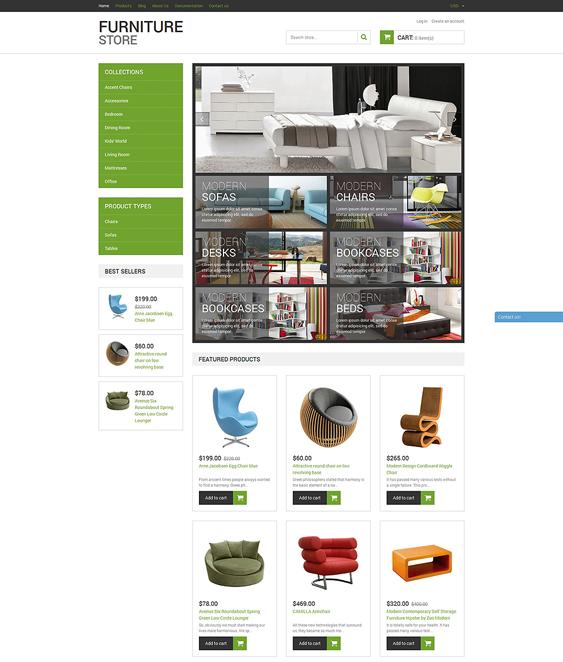modern furniture shopify themes