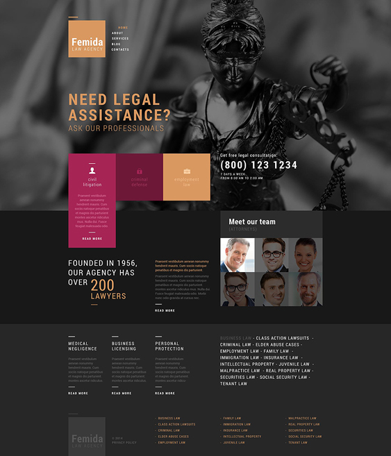 public dark wordpress themes