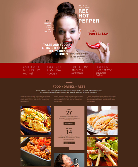 spicy dark wordpress themes