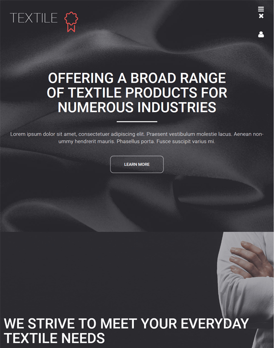 textile dark wordpress themes