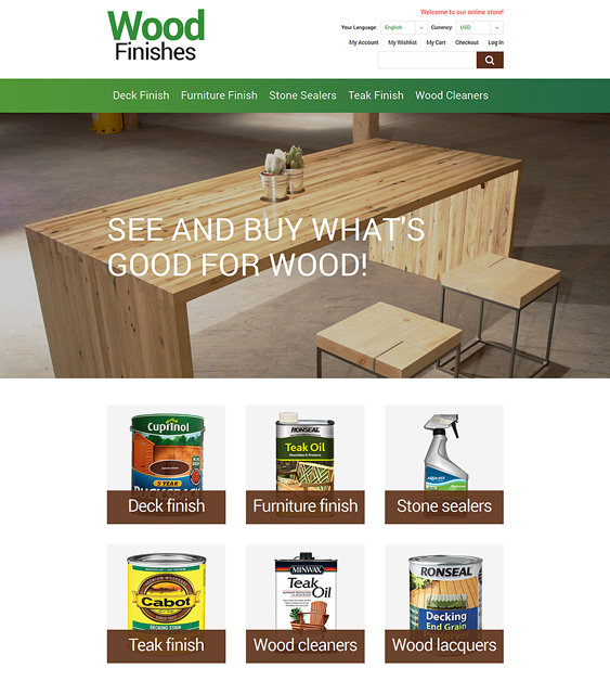 wood hardware home improvement magento themes
