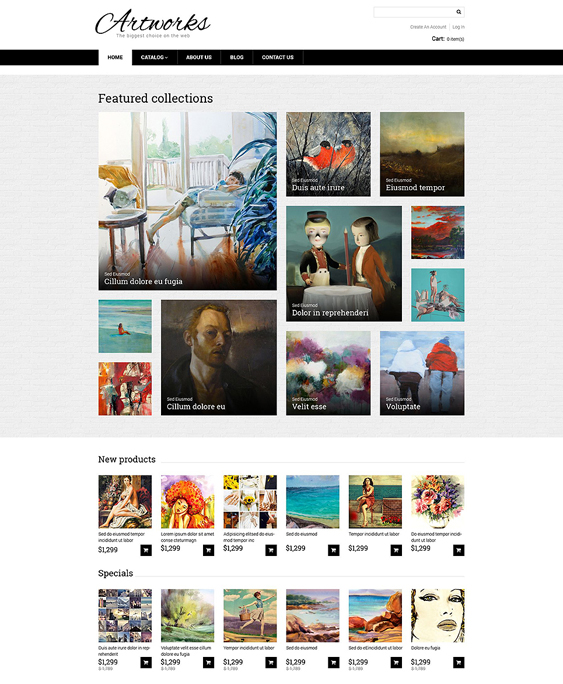 artworks responsive virtuemart themes