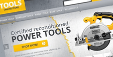 best hardware home improvement magento themes feature