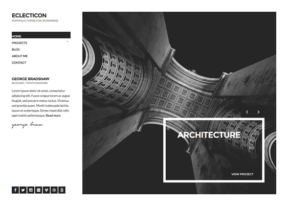 eclecticon architect wordpress themes