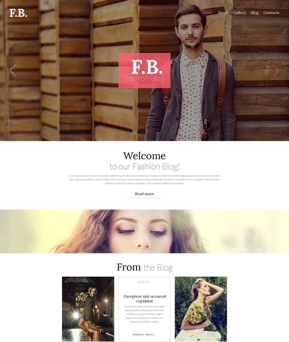 fashion blog wordpress themes