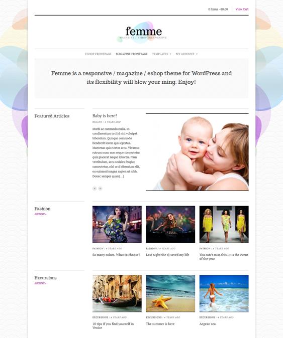 femme news magazine wordpress themes