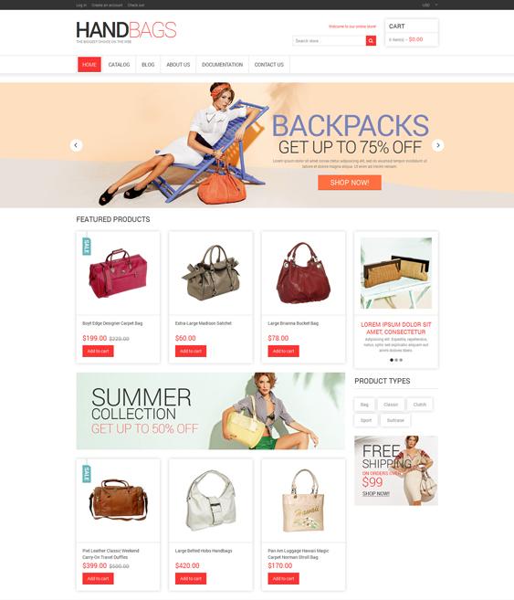 handbags purses shopify themes 3