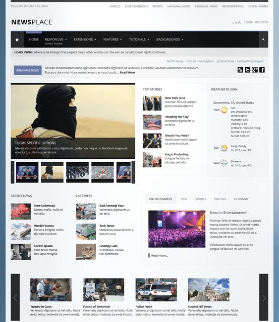 newsplace news magazine wordpress themes