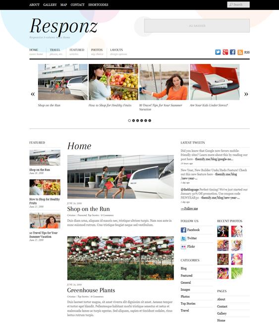 responz news magazine wordpress themes