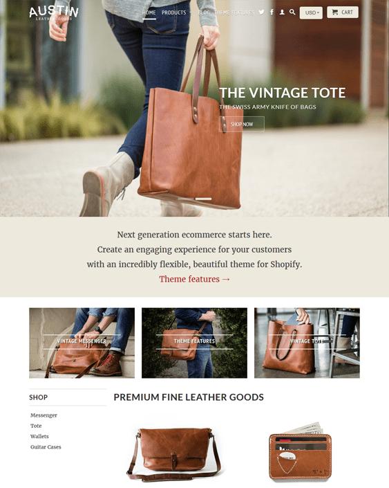 retina austin handbags purses shopify themes