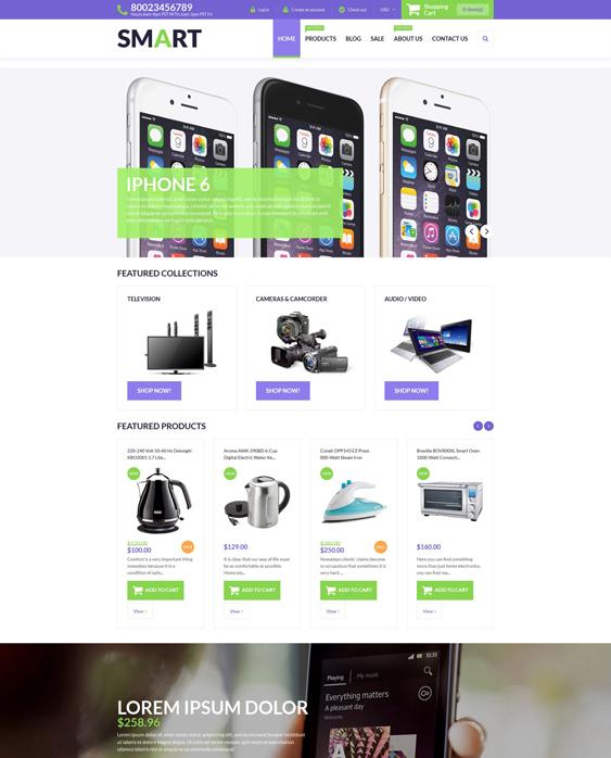 smart electronics shopify themes