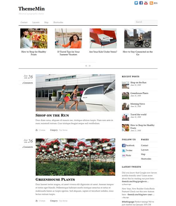 thememin news magazine wordpress themes