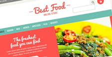 best food drink restaurant opencart themes feature