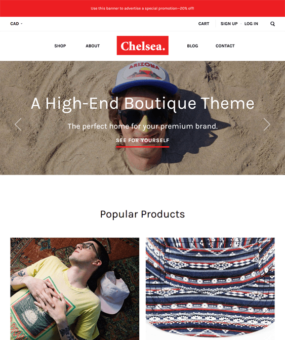 chelsea clean bigcommerce themes