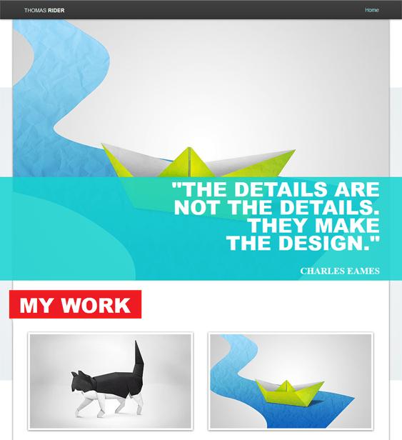 creative portfolio wix templates