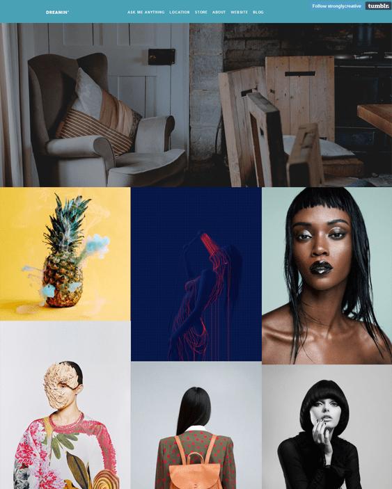 creative masonry tumblr themes