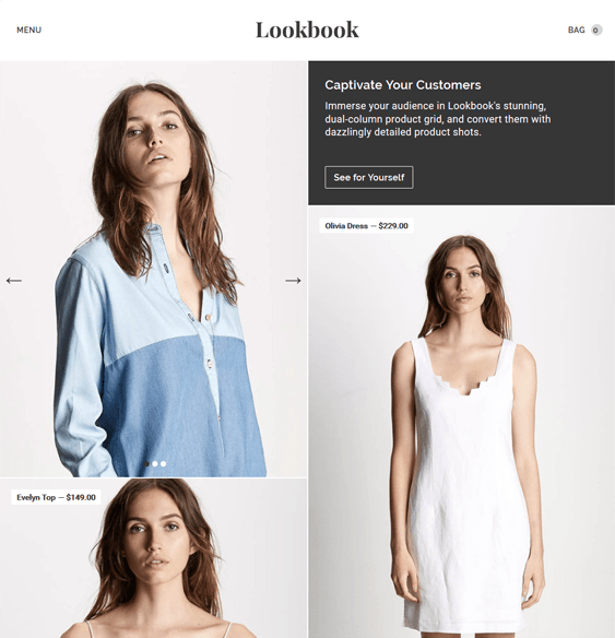 lookbook clothing bigcommerce themes