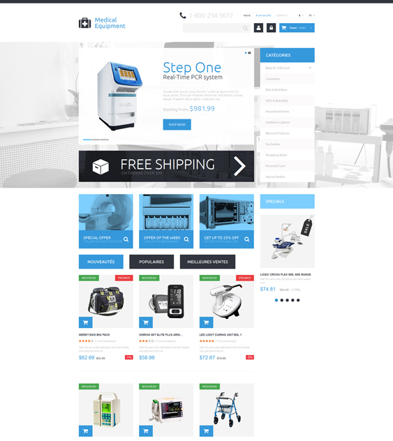 medical prestashop themes appliances