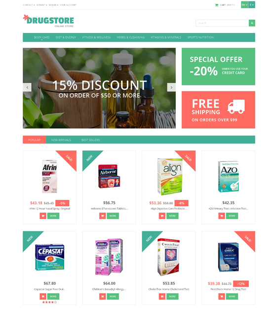 medicine medical prestashop themes