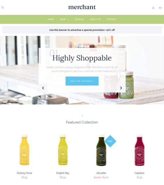 merchant clean bigcommerce themes