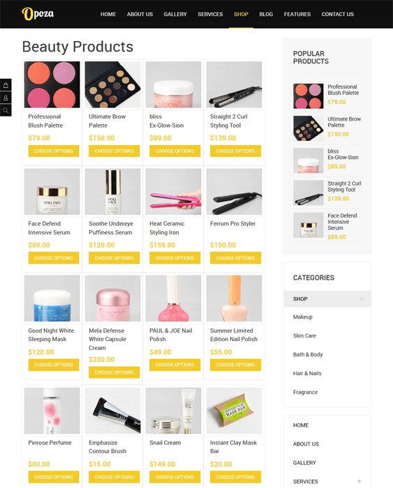 opoza hikashop themes