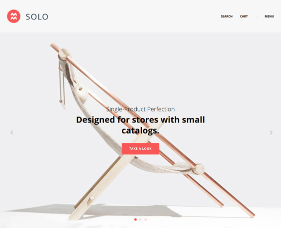 solo minimal bigcommerce themes home decor furniture