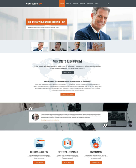business drupal themes