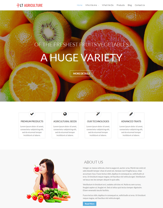 lt farms agriculture wordpress themes